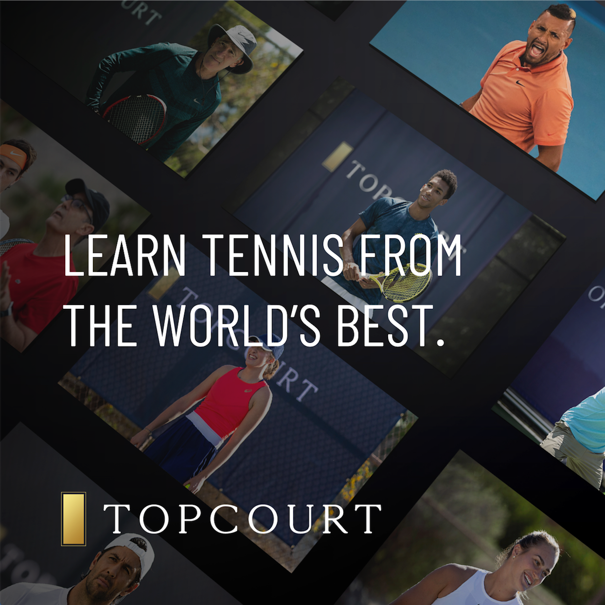 Learn Tennis From The World's Best