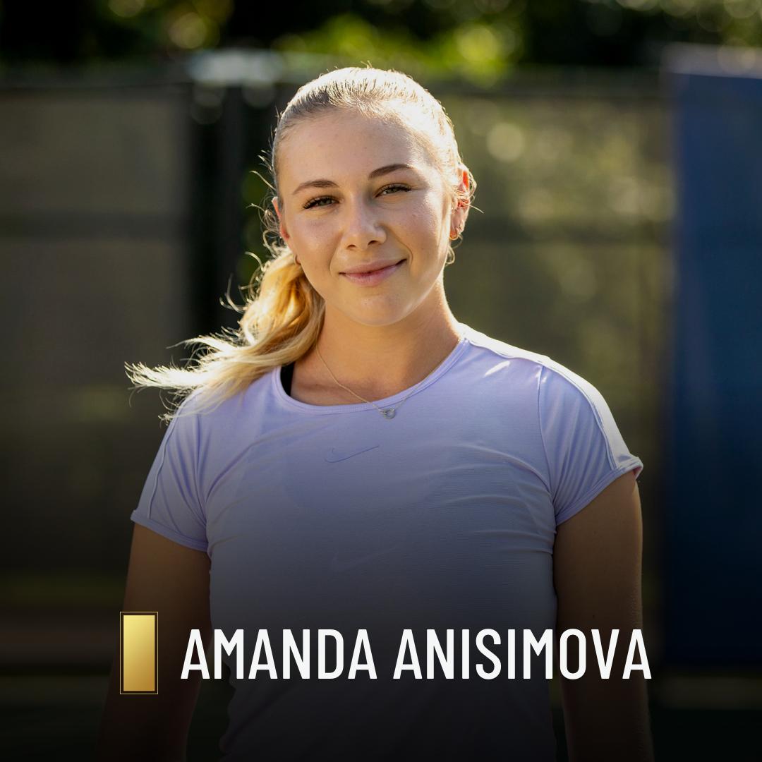 Amanda Anisimova - Highest Rank #21