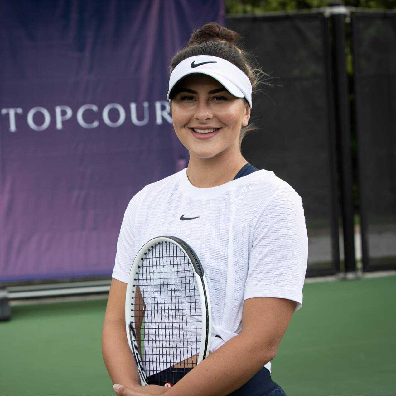 Meet your new TopCourt coach, Bianca Andreescu