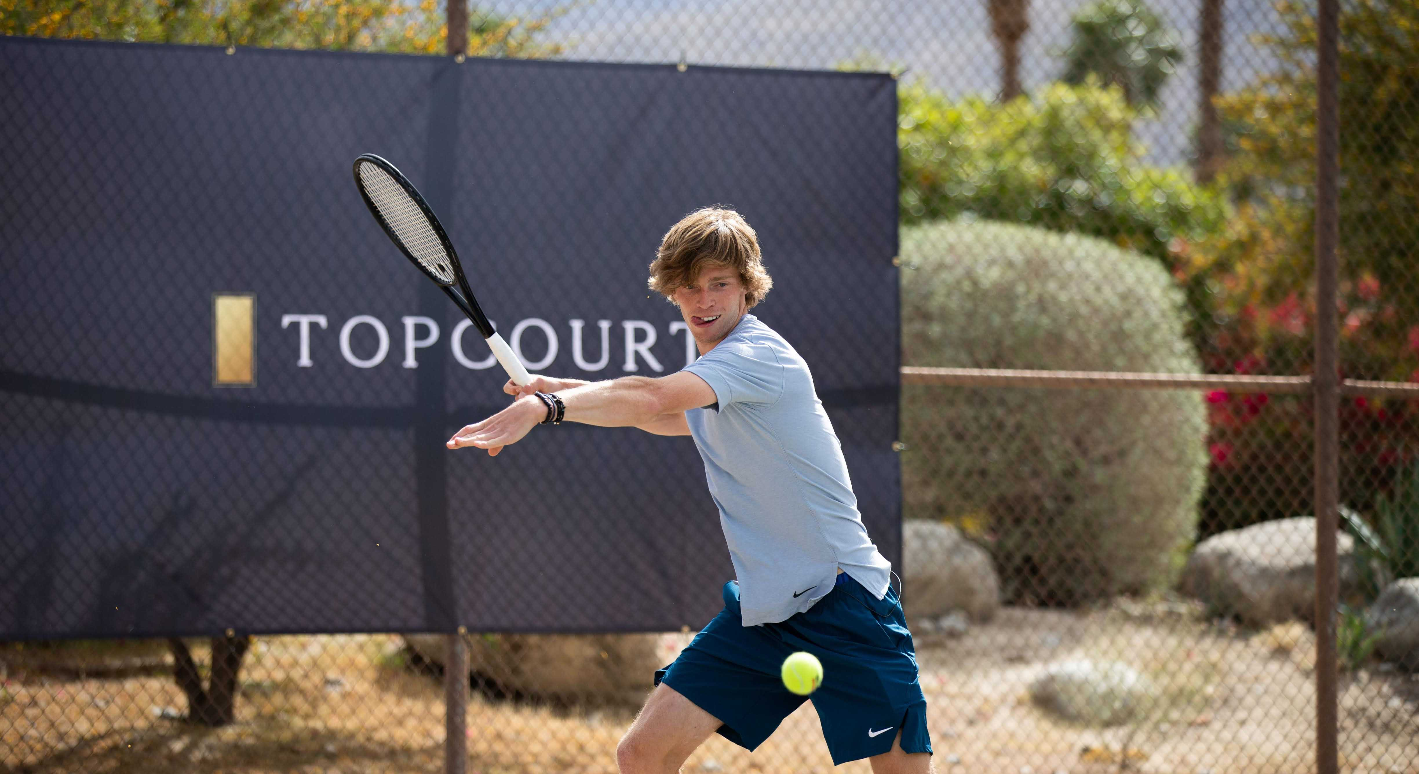 Andrey Rublev-TopCourt